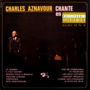 Charles Aznavour - Chante En Multiphonie Stereo Album No 2