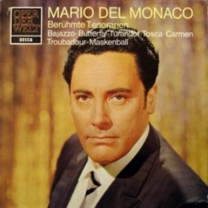 Mario del Monaco - Berühmte Tenorarien