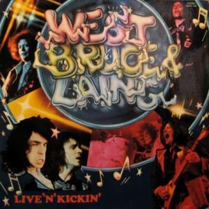 West, Bruce & Laing - Live'N'Kickin'