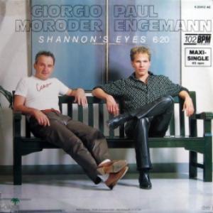 Giorgio Moroder & Paul Engemann - Shannon's Eyes (Orange Vinyl)