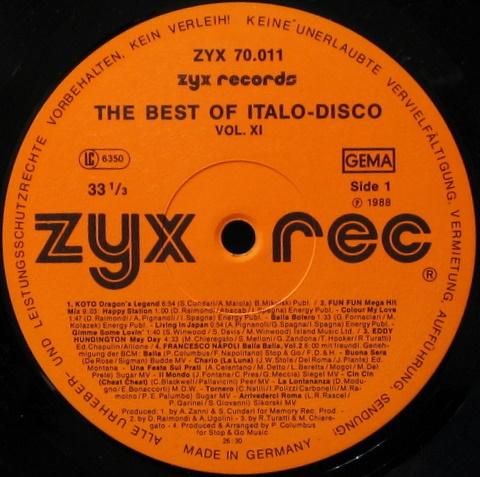 итало диско хитс вол 1988