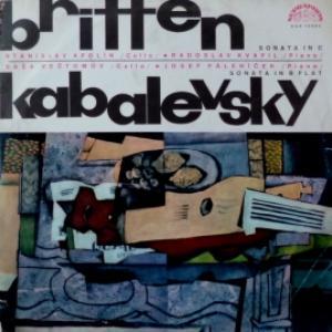 Benjamin Britten / Dmitry Kabalevsky (Дмитрий Кабалевский) - Sonata In C For Violoncello And Piano, Op. 65/Sonata In B Flat Major For Violoncello And Piano, Op. 71