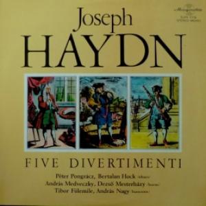 Joseph Haydn - Five Divertimenti
