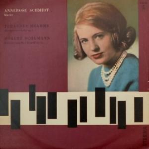Annerose Schmidt - Plays Johannes Brahms And Robert Schumann