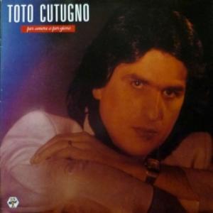 Toto Cutugno - Per Amore O Per Gioco