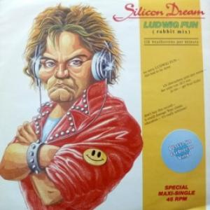 Silicon Dream - Ludwig Fun (Rabbit Mix) (Green Transparent  Vinyl)