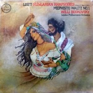Ferenc Liszt - Hungarian Rhapsodies 2 / Mephisto Waltz No.1 (Willi Boskovski & London Philarmonic Orchestra)