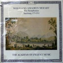 Wolfgang Amadeus Mozart - Symphonies Vol. 5 - Salzburg 1775-1783 (feat. Christopher Hogwood & Academy Of Ancient Music)