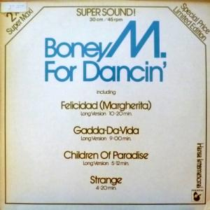 Boney M - For Dancin' (2x12'' Supersound Singles)