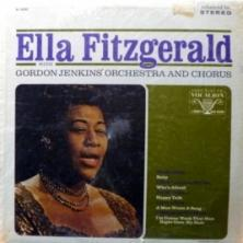 Ella Fitzgerald - Ella Fitzgerald With Gordon Jenkins' Orchestra And Chorus
