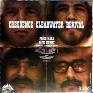Creedence Clearwater Revival - Proud Mary / Bayou Country