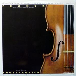 Cesar Franck / Dmitri Shostakovich - Piano Quintet In F-minor - 3rd Movement / Piano Quintet Op. 57