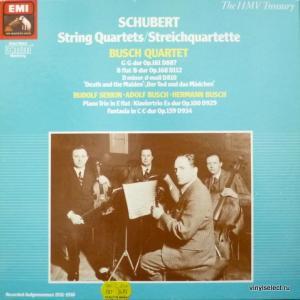 Franz Schubert - String Quartets (feat. Busch Quartet)