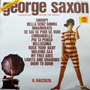 George Saxon - A Saxophone Around The World - 8a Raccolta