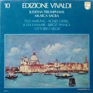 Antonio Vivaldi - Edizione Vivaldi - Vol.10: Juditha Triumphans / Musica Sacra