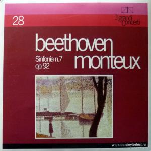 Ludwig van Beethoven - Sinfonia N. 7 Op. 92 (feat. Pierre Monteux)