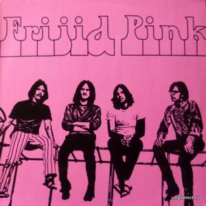 Frijid Pink - Frijid Pink (Red Vinyl)