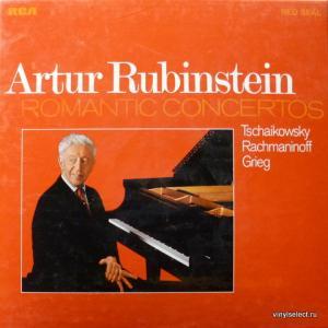 Artur Rubinstein - Tschaikowsky, Rachmaninoff, Grieg – Romantic Concertos