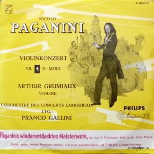Niccolo Paganini - Concerto For Violin And Orchestra No. 4 In D Minor
