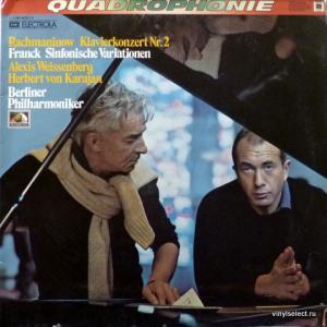 Sergej Rachmaninow / Cesar Franck - Klavierkonzert Nr. 2 / Sinfonische Variationen (feat. Herbert von Karajan)