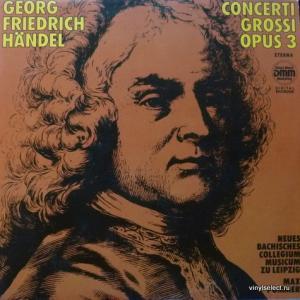 George Frideric Handel - Concerti Grossi Opus 3 (feat. Neues Bachisches Collegium Musicum Leipzig)