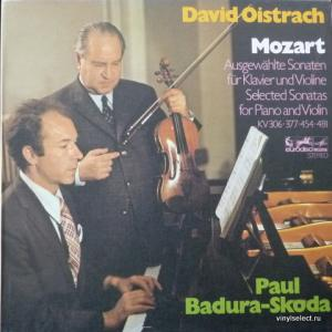 Wolfgang Amadeus Mozart - Selected Sonatas For Piano And Violin (feat. David Oistrach & Paul Badura-Skoda)