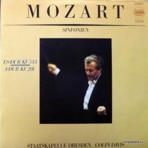 Wolfgang Amadeus Mozart - Sinfonien №39 Es-Dur KV 543, №29 A-Dur KV 201 (feat. Colin Davis)
