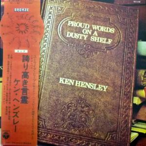 Ken Hensley (Uriah Heep) - Proud Words On A Dusty Shelf