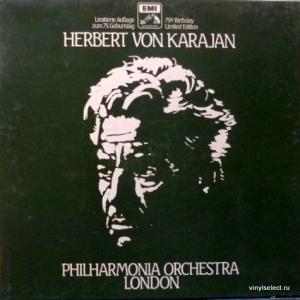 Herbert Von Karajan - Philharmonic Orchestra London 75th Birthday Limited Edition