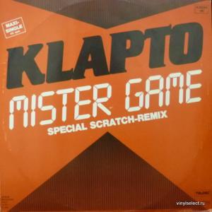 Klapto - Mister Game (Special Scratch-Remix)