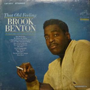 Brook Benton - That Old Feeling