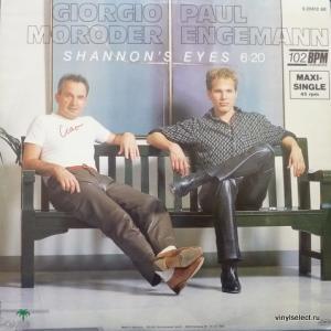 Giorgio Moroder & Paul Engemann - Shannon's Eyes (Green Vinyl)