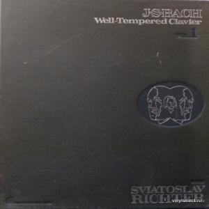 Johann Sebastian Bach - Well-Tempered Clavier Vol.1 (feat. Sviatoslav Richter)