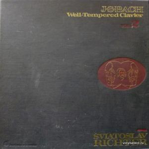 Johann Sebastian Bach - Well-Tempered Clavier Vol.2 (feat. Sviatoslav Richter)
