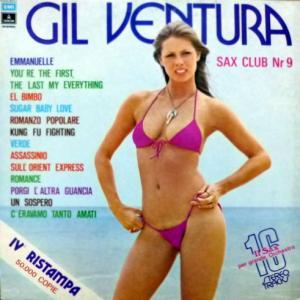 Gil Ventura - Sax Club Number 9