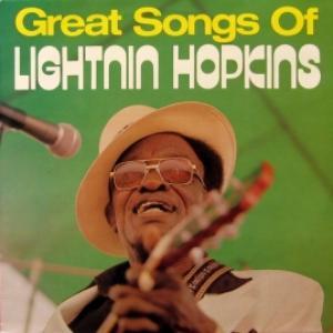 Lightnin Hopkins - Great Songs Of Lightnin Hopkins
