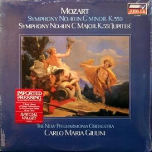 Wolfgang Amadeus Mozart - Symphony No.40 in G minor, K.550 Simphony No.41, K.551 'Jupiter