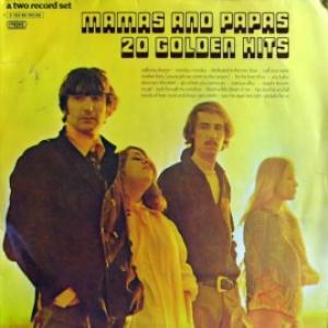 Mamas & Papas,The - 20 Golden Hits