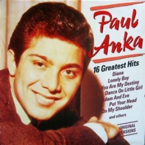 Paul Anka - 16 Greatest Hits