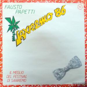 Fausto Papetti - Saxremo '86
