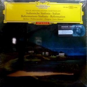 Berliner Philharmoniker (feat. Lorin Maazel) - Felix Mendelssohn-Bartholdy: Italienische Sinfonie / Reformations-Sinfonie
