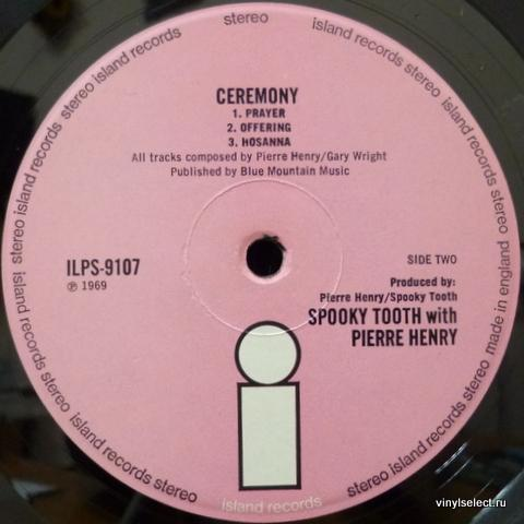 Spooky Tooth Pierre Henry Ceremony An Electronic Mass